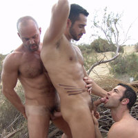 Carlo Cox gay muscle video from Alpha Male Fuckers
