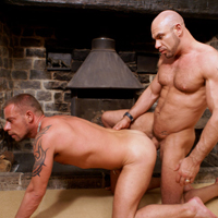 Axel Ryder gay muscle video from Alpha Male Fuckers