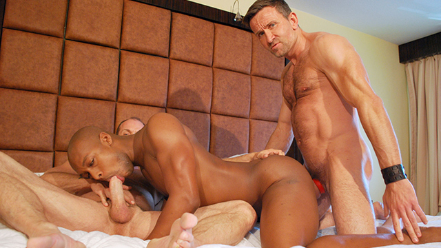 Video black et senior gay : 2 bear gay mature nique un noir bareback !