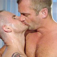 Peter Bender gay hardcore sex video from Bareback That Hole