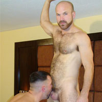 Chuck Rockwood gay hardcore sex video from Bareback That Hole