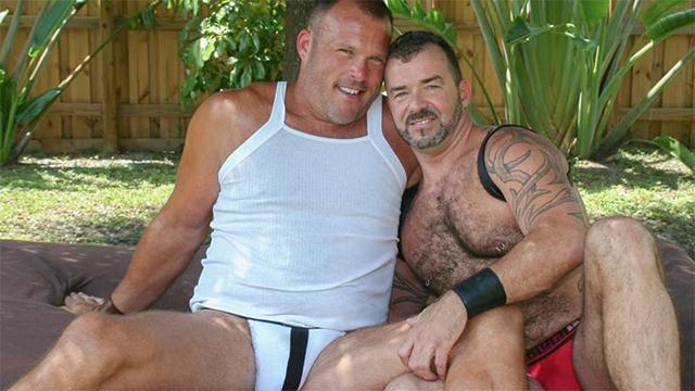 Brock Hart and Steve King