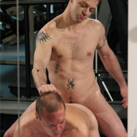 Rob Morse gay muscle video from Breed Me Raw