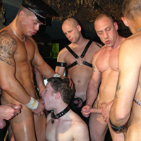 Ashley Ryder gay all fetishes video from Bulldog Pit