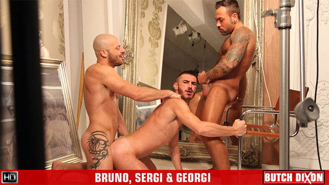BD sergi bruno georgi preview Three's Company