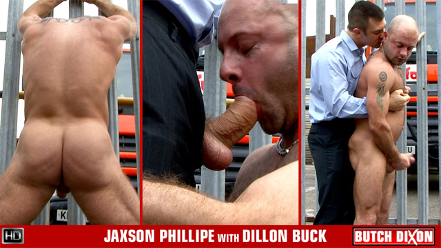BD jaxsonphillipe dillonbuck preview The Boss And His Fat Hunk Of Cock Meat