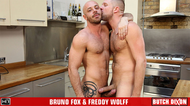 BD freddywolf brunofox preview Mediterranean Hottie Bruno Fox and Uncut Scandinavian Freddy Wolff Like Fire And Ice