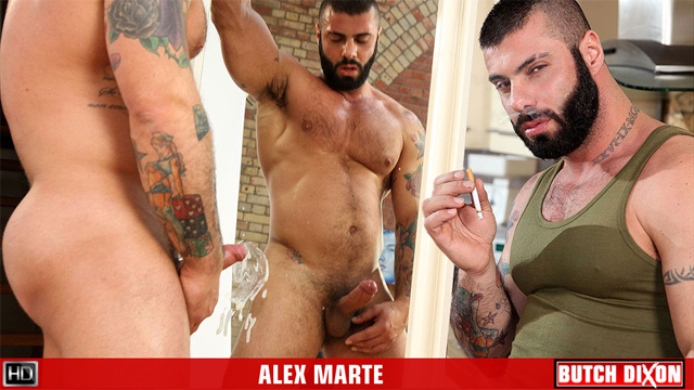 BD alex marte solo preview Big, Thick, Uncut Porn Titan Alex Marte