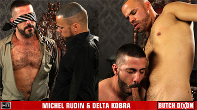 Michel Rudin and Delta Kobra