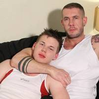 Gay huge skinhead bodybuilder