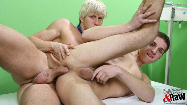 Hot, Hung Doctor Barebacks Sweet Twink Patient