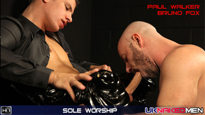 Sole Worship With Paul Walker and Bruno Fox