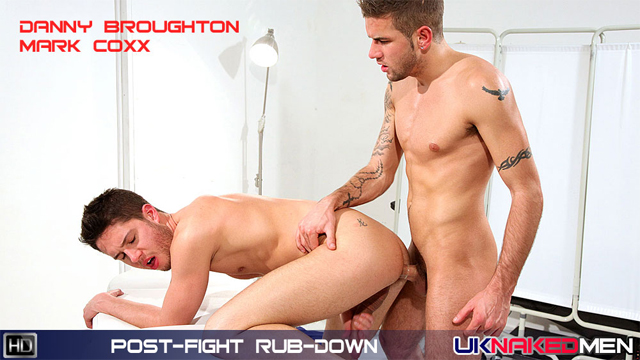 UKNM danbroughton markcoxx preview Masseur Dan Broughton Rewards Client Mark Coxx With A Cum Facial