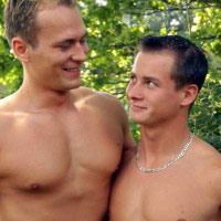 Sweet and Raw gay cream pies video